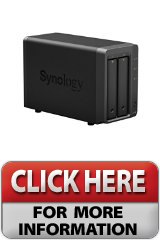 Synology America DiskStation 2Bay Network Attached Storage DS215 Easy